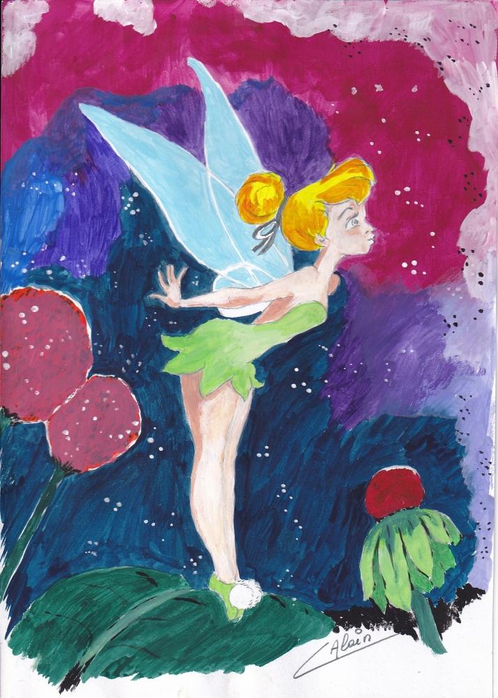 Tinker Bell por lharmonica1
